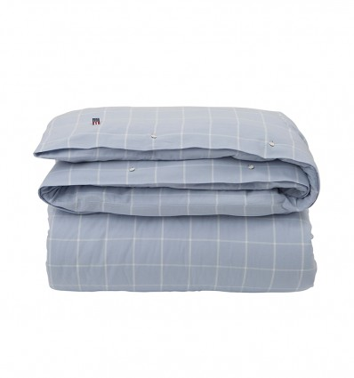 Lexington dekbedovertrek Hotel Light Flannel Blue/White International